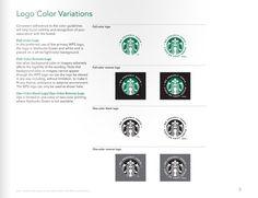 星巴克企业VI视觉规范手册学习