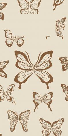Butterfly phone lock screen