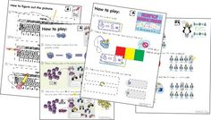 Common Core math games for kindergarten.