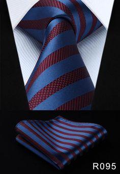 Corbata Hombre BlueBlack Pietro