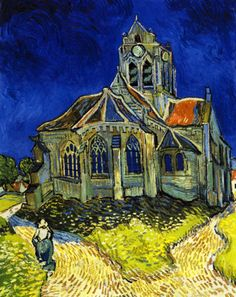 Vincent Van Gogh - Church at Auvers