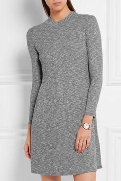 Marl-gray stretch-knit Slips on 48% polyester, 47% viscose, 5% elastane Machine wash Designer color: Heather Gravel Imported