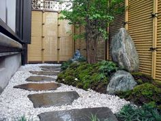 90 beautiful side yard garden decor ideas (53)