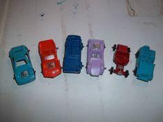 Lot of 6 Vintage Midgetoy Die-cast Cars