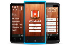 The Wunderlist App: