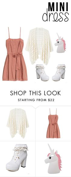 """""""mini dress"""" by doremiaw ❤ liked on Polyvore featuring MANGO, St. Roche and Miss Selfridge"""