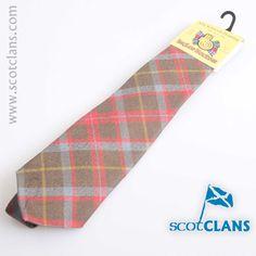 MacIntosh Weathered Tartan Tie. Free worldwide shipping available