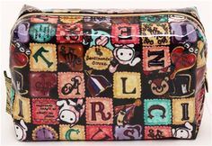 Sentimental Circus pouch with letters from Japan