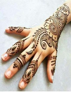 Hire a talented Mehndi or Henna Tattoo Artist for your event! Get quotes for Henna Tattoo Artists in Dallas, Texas and book on GigSalad. Mehandi Designs, Rajasthani Mehndi Designs, Mehandi Design For Hand, Floral Henna Designs, Latest Arabic Mehndi Designs, Back Hand Mehndi Designs, Beautiful Henna Designs, Simple Mehndi Designs, Henna Tattoo Designs