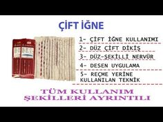 ÇİFT İĞNE KULLANIMI TÜM AYRINTILARI (DİKİŞ TEKNİKLERİ) - YouTube Sewing Techniques, Detail, Youtube, Youtube Movies, Quilling Techniques