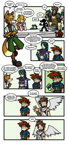 Super Smash Bros. Newcomer by Hail-NekoYasha.deviantart.com
