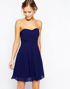 TFNC Prom Dress In Pleated Chiffon