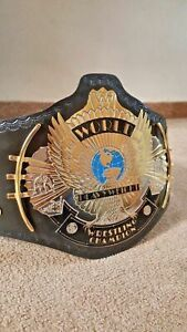 Classic Gold, Cowhide Leather, Wwe, Belts, Attitude, Eagle, Plating, Wrestling, Stars