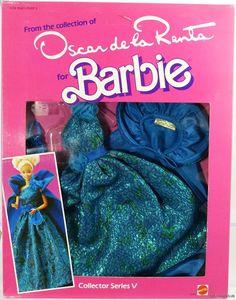 Ideal  Oscar de la Renta for Barbie