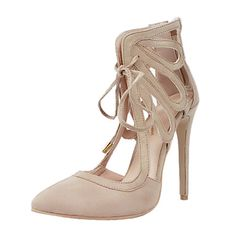 Cheap designer womens sandals, Buy Quality women designer sandals directly from China women sandals Suppliers: Original Intention New Design Women Sandals Pointed Toe Thin Heels Sandals High-quality Beige Shoes Woman Plus US Size Beige Pumps, Beige Shoes, Nude Shoes, Stiletto Heels, Women's Heels, Hot High Heels, Womens High Heels, Large Size Shoes, Fall Heels