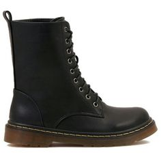 Black Ankle Lace Up Boot New No Box FINAL PRICE!! All man made materials, says size 38, it is a size 7 Shoes