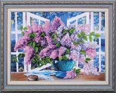lila-stickmuster-bead-embroidery-kit-modern-handstickerei-kit-blumenstickmotive-needlepoint-kit-bead-cross-stitch-kit/ - The world's most private search engine Hand Embroidery Kits, Flower Embroidery Designs, Modern Embroidery, Beaded Embroidery, Beaded Cross Stitch, Modern Cross Stitch, Cross Stitch Kits, Cross Stitch Patterns, Beads Pictures