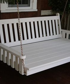 Look what I found on #zulily! White Traditional English Swing Bed by A&L Furniture #zulilyfinds