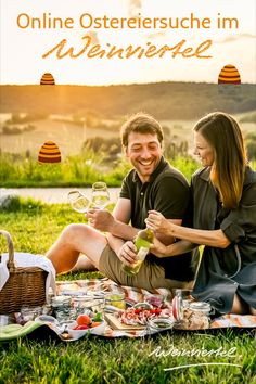 Du kannst Ostern kaum mehr abwarten? Dann haben wir gute Neuigkeiten für dich. Unser Osterhase hat schon jetzt fleißig bunte Ostereier versteckt. Begib dich auf die virtuelle Suche nach den Ostereiern und gewinne mit etwas Glück einen Pärchen-Gutschein für ein Picknick im Weinviertel. Wir drücken dir die Daumen! © Weinviertel Tourismus / Herbst Couple Photos, Movie Posters, Movies, Easter Bunny, Tourism, Easter, Fall, Vacations, Couple Shots