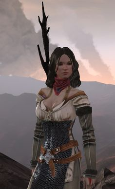 Halloween?  Bethany Hawke from DA2.  I definitely have a scarf just like that.
