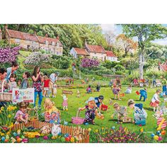 Easter Egg Hunt - 500pc jigsaw puzzle