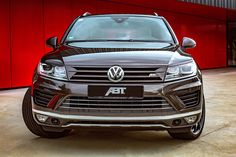 ABT has unveiled its tuning upgrades for the V8-diesel Volkswagen Touareg.