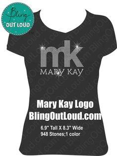 Mary Kay Logo Bling Rhinestone Shirt by BlingOutLoud on Etsy, $28.00 Diy Beauty Face, Selling Mary Kay, Mary Kay Party, Rhinestone Shirts, Mary Kay Cosmetics, Lady Mary, Beauty Consultant, Mary Kay Makeup, All Things Beauty