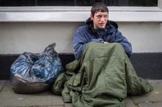 """""""I've been without a home for about a month now. I think it'll sort itself out soon. One thing I really want to do right now though is go to the gym and lift some weights! I miss my gym membership."""" #england #homeless #gym #weights"""