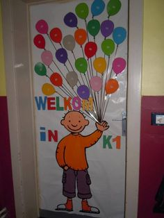 Definitely making one of these for my class! I Love School, Back To School, Classroom Door, Classroom Organization, School Doors, Class Decoration, Beginning Of The School Year, Study Inspiration, Childcare