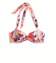 AE Retro Halter Bikini Top