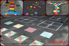 Pinta tu patio para jugar, con nuestras propuestas de Juegos tradicionales.