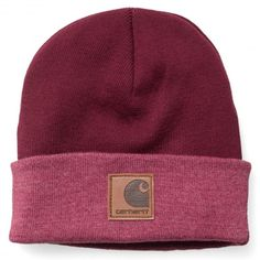 Carhartt Mason Watch Cap Beanie cranberry red bonnet à revert 25€ #carhartt #carharttwip #carharttworkinprogress #workinprogress #carharttstore #bonnet #beanie #bonnets #beanies #cap #hats #hat #caps #skate #skateboard #skateboarding #streetshop #skateshop @April Gerald Skateshop