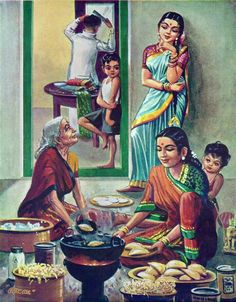 South Indian cooking