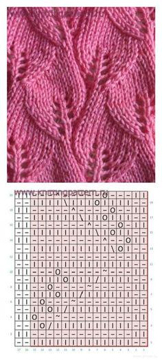 вязание-узоры | Простые схемы.