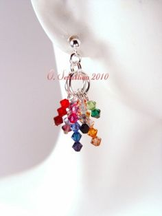 On my list of wants-Color Explosion Earrings