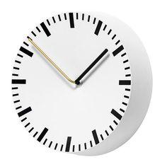 Hay Analog wall clock, 27 cm, painted aluminium