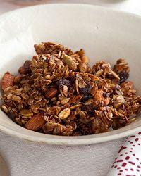 Mom's Nutty Granola // More Healthy Breakfasts: http://www.foodandwine.com/slideshows/healthy-breakfasts #foodandwine