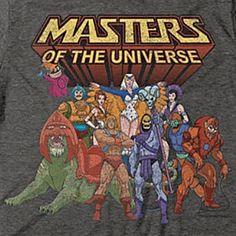 He-Man and the MOTU - Original 80's Cartoon / Officially Licensed T-Shirt #MOTUBrand #GraphicTee