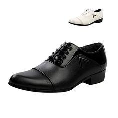 Men's Lace-Up Leather Shoes