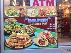 Dolphin Gourmet Food: 320 West 14th Street, New York, NY. (Photo Date: 4/24/14)