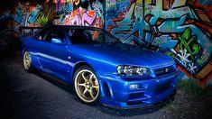 Nissan Skyline Gt R Blue Car Hd Wallpaper Free High Definition Nissan  Skyline GTR Wallpapers Wallpapers)