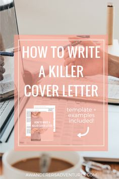 Writing the perfect cover letter is hard. But I think I've mastered the art of impressing employers. Click through to find out how to write a killer cover letter and get a free work book with a template for your cover letters and 3 examples! Creative Cover Letter, Writing A Cover Letter, Cover Letter Example, Cover Letters, Cover Letter For Resume, Cover Letter Template, Business Plan Pdf, Creating A Business Plan, Business Planning