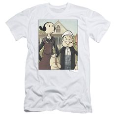 """Checkout our #LicensedGear products FREE SHIPPING + 10% OFF Coupon Code """"Official"""" Popeye / Popeye Gothic - Short Sleeve Adult 30 / 1 - Popeye / Popeye Gothic - Short Sleeve Adult 30 / 1 - Price: $29.99. Buy now at https://officiallylicensedgear.com/popeye-popeye-gothic-short-sleeve-adult-30-1"""