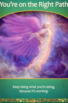 Life Purpose Oracle Cards YOU'RE ON THE RIGHT PATH | Doreen Virtue