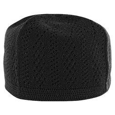 543e11ff6481e Black Cotton Muslim Prayer Crotchet Kufi Mens Skull Cap Knit Topi Made in  Turkey Only  2.99