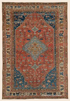 "BAKSHAISH, 10' 3"" x 15' 0"" — Circa 1875, Northwest Persian Antique Rug - Claremont Rug Company  Click to learn more about this rug."