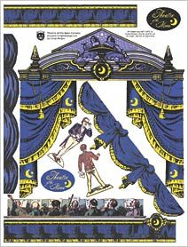 Theatre of the Moon Curtains Collage Sheet
