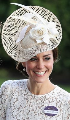 Catherine, Duchess of Cambridge laughs with Zoe Warren as she attends the second day of Royal Ascot at Ascot Racecourse  on June 15, 2016 in Ascot, England.