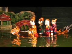 ベトナム・ハノイ 水上人形劇 6/8 Water Puppet Show Hanoi,Vietnam