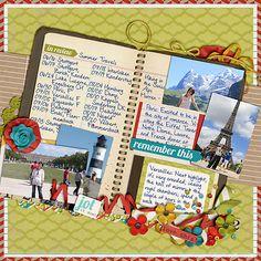 Remember Summer Travels - Scrapbook.com